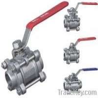 3PC Stainless steel ball valve Manufacturer