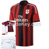Red soccer jersey ambroidered  Manufacturer