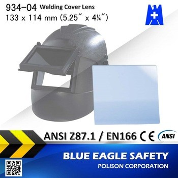 Blue Eagle Safety Welding PC Glass Cover Lens size 133 x 114 mm