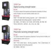 Fabric Testing Equipment Pneumatic Bursting Strength Tester Manufacturer