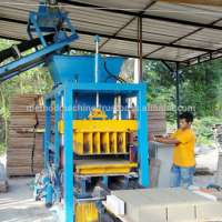 Cement Brick & Concrete Block Making Machines Manufacturer