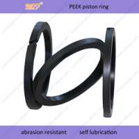 abrasion resistant air compressor piston ring