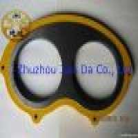 Zoomlion Tungsten Carbide Concrete Pump Wear Plates in  Manufacturer