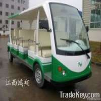 Electric Vehicle Sightseeing Car 15 Seats Manufacturer