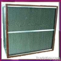 Separator Aluminum Hepa Filter Manufacturer