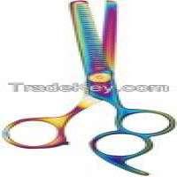 Thinning scissors multi colors  Manufacturer