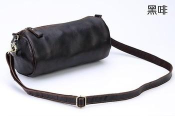 53dda7247c Retro Crazy Horse Bags Leather bag Vintage Crossbody mens Shoulder Bags
