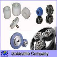 Plastic planetary helical gears sets