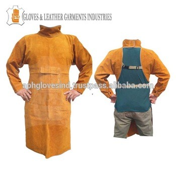 34095e69c3 Protective Split Cowhide Leather Welding Suit And Chap From APH GLOVES  INDUSTRIES