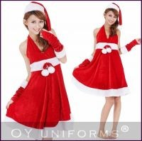 Dropshipping Adult Christmas Costumes Festival Suit Girls