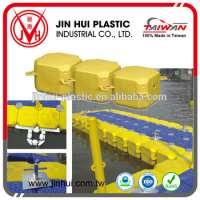 Plastic blow mold water work marine pontoon platform boat