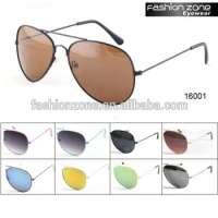 vintage metal aviator sunglasses