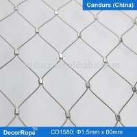 Rope Sleeve Flexible Stainless Steel Wire Mesh Cable Manufacturer