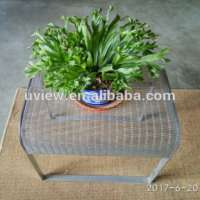 stainless steel chair woven wire mesh