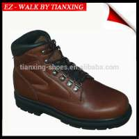 ESD safety footwear mans leather upper