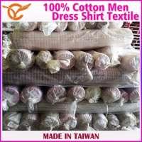 Cotton Tartan Dress Shirt Designs Men Textile Stocks Manufacturer