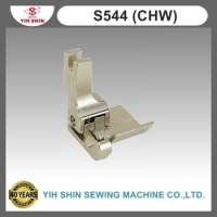 Industrial Sewing Machine Parts Sewing Accessories Hemming & Folding Feet Single Needle S544 CHW Presser Feet