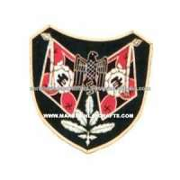 Customized Woven Embroidered Badges Manufacturer