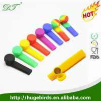 Colorful Silicone smoking pipes outdoor smoking Manufacturer