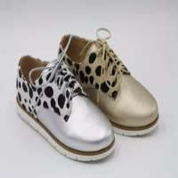 Ladies fancy flat loafer footwear shoes Manufacturer
