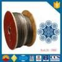 Steel wire rope construction machinery 8xk26wsIwrc Wire Rope ISO Certificate Manufacturer
