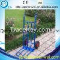 blue two wheels hand trolley moving equioment Manufacturer