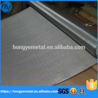 Plain Stainless Steel Wire Mesh Woven