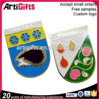 Customized design metal enamel badgespins