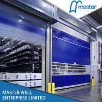Fast Moving Stainless Steel Gate