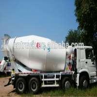 pouring cement concrete mixer