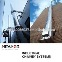 Industrial building chimney system big project stainless steel us our technical team support you 33