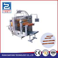 ice lollyice popjuicewatermilkvinegarwater lolly fourside sealing and multiline liquid packaging machine Manufacturer
