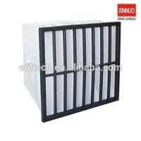 large dust load capacity air bag filter ac line filter filters