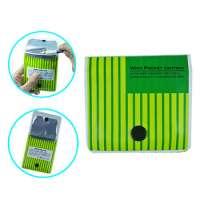 pvc aluminum foil inner portable disposable pocket ashtray Manufacturer