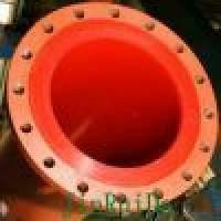 Wear Resistant Polyurethane Lined Steel Pipe line Fitting Manufacturer