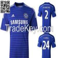 15 Chelsea home Soccer Jerseys Thai survetement Football Manufacturer