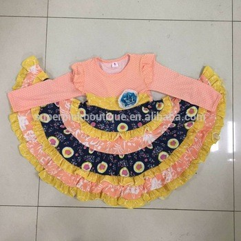 fb7e22aeca Baby Cotton Frocks Designs Girl Cotton Denim Dress From Yiwu  Superpinkboutique Trading Co.