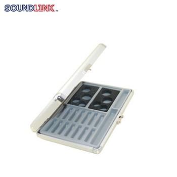 Soundlink aluminum alloy hearing aid presentation case