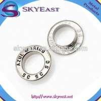 Customized Decorative Enamel Metal Flat Eyelets