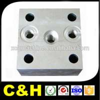 Aluminum stainless steel brass plastic milled components Manufacturer