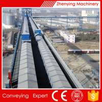 High Efficiency Air Supported Belt Conveyor Grain Conveying Manufacturer