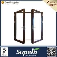 Exterior Waterproof Aluminum Casement Glass Door Manufacturer