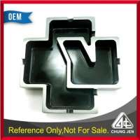 Premium Giveaways Full 3D Plating Antique Zinc Cross Shape Metal Ashtray Manufacturer
