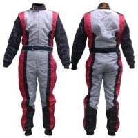go Kart racing suits customized embroidered logos go kart suits Manufacturer