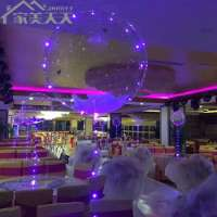 Christmas wedding party flashing LED light up balloonsinflatable romantic ornament balloons Manufacturer