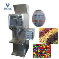 semi automatic granule weighing filling machine small production Manufacturer