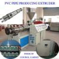 PVC pipe double screw extruder Manufacturer