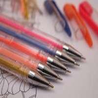 40 colors gel pen set metal mesh pen holder Manufacturer