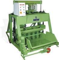Heavy duty concrete block making machine Manufacturer