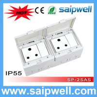 Electric Waterproof switch and socket